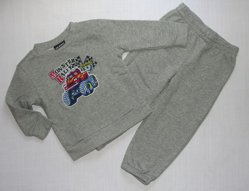 JOE BOXER Boy's 18 Months Monster Truck Sweat Outfit