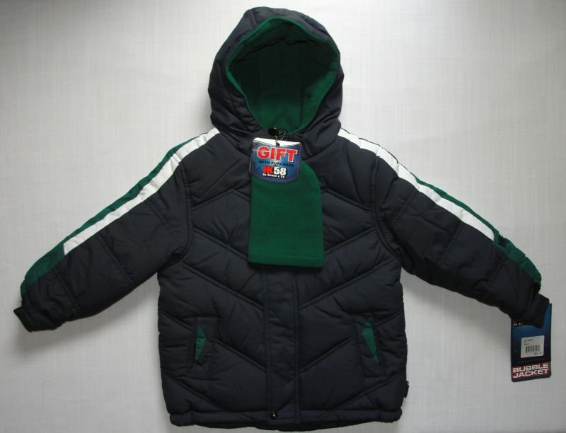 HK58 by HAWKE & CO. Boy's 3T Bubble Jacket, Navy, NEW