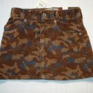 CHILDREN'S PLACE Girl's 3T Camoflauge Skirt, Skort, NEW