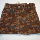 CHILDREN'S PLACE Girl's 3T Camoflauge Skirt, Skort, NEW