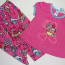 CHILDREN'S PLACE Girl's Sz 2/3 Pajama Set, NEW
