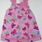 YOUNGLAND Girl's Size 6 Pink Butterfly Sundress, NEW