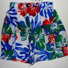 CHILDREN'S PLACE Boy's 18 M Swim Shorts, FLORAL, NEW