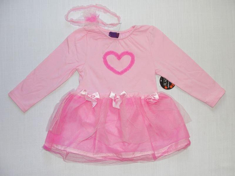 CHILDREN'S PLACE 0-6 Months Pink Ballerina Halloween Costume, NEW