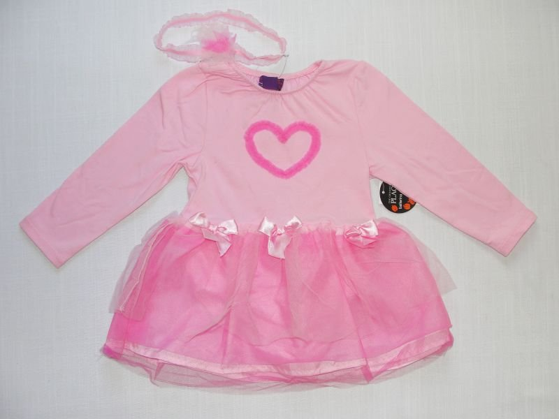 CHILDREN'S PLACE 12-18 Months Pink Ballerina Halloween Costume, NEW