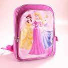 DISNEY PRINCESS Pink School Backpack, NEW
