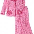 DR. SEUSS Girl's 3T Pink Fish Coat Pajama Pants Set, NEW