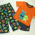 CARTER'S Boy's 3T MOMMY'S LITTLE MONSTER 3-Piece Pajama Set, NEW
