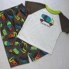 CARTER'S Boy's 3T TOUGH LIKE DAD Pajama Pants Set, NEW