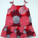 OLD NAVY Girl&#39;s Size 2T Floral Lined Sundress Set, NEW