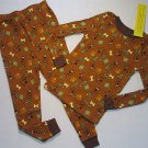 SCOOBY-DOO Boy's Size 4 Print Pajama Pants Set, NEW