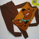 SCOOBY-DOO Boy's Size 4 Pajama Pants Set, NEW
