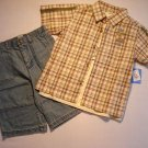 BUSTER BROWN Boys Size 6 JURASSIC CLASSIC Three Piece Shorts Set, NEW