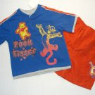 DISNEY Boy's Size 3T WINNIE THE POOH And TIGGER Athletic Shorts Outfit