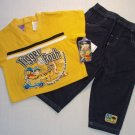 DISNEY Boy's Size 18 Months TIGGER And WINNIE THE POOH Pants, Jeans Outfit, NEW