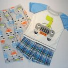 CARTER'S JUST ONE YOU Boy's 2T Dinosaur 3-Piece Pajama Set, NEW