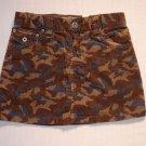 CHILDREN'S PLACE Girl's Size 10 Camoflauge Skirt, Skort, NEW