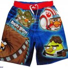 ANGRY BIRDS Boy's Size 8 Swim Shorts, Trunks, NEW