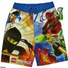 LEGO NINJAGO Ninjas Boy's Size 14-16 Swim Shorts, Trunks, NEW