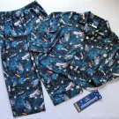 CANDLESTICKS Boy&#39;s 3T SPACE SHUTTLE ASTRONAUT Flannel Pajama Set, NEW