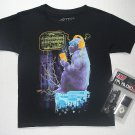 RB RUDEBOYZ Size M 10-12 Gorilla T-Shirt, Shirt with Handheld FM Radio, NEW