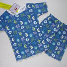 DREAM GIRLZ Size 4 Shorts Pajama Set, 'Moonlight', NEW