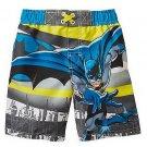 DC COMICS Boy's BATMAN Size 3T Swim Shorts, NEW