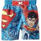 DC COMICS Boy's SUPERMAN Size 3T Swim Shorts, NEW
