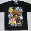 ANGRY BIRDS STAR WARS Boy's Size 10-12 Black T-Shirt, Shirt, Tee, NEW