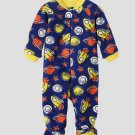 THE CHILDREN'S PLACE  Boy's 3T SPACE Fleece Pajama Sleeper