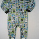 BUNZ KIDZ Boy's Size 3T DOG Rock Music Gray Footed Pajama Sleeper, NEW