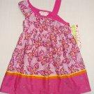 ASHLEY ANN Girl's Size 4 Purple, Pink Butterfly Sundress, Dress, NEW