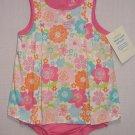 CARTER'S Girl's 24 Months Pink Floral Summer Romper, Sunsuit, NEW