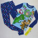DISNEY TOY STORY Boy's Size 4 WOODY, BUZZ, REX, BULLSEYE Pajama Set, NEW
