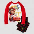 DISNEY Boy's Size 4 CARS MCQUEEN, MATER, CUP Pajama Pants Set, NEW