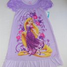 DISNEY PRINCESS RAPUNZEL Girl's Size 7/8 Purple Nightgown, NEW