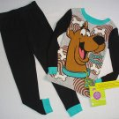SCOOBY-DOO Boy's Size 6 Scooby Snacks Pajama Pants Set, NEW