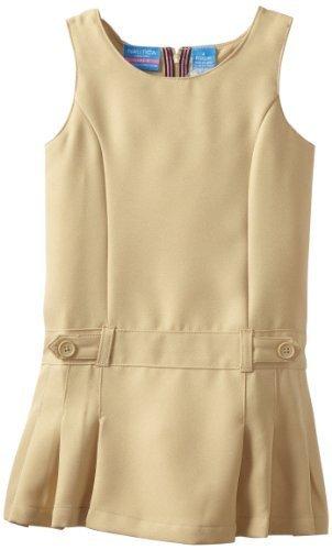 NAUTICA Girl's Size 5 Khaki Dress School Uniform Jumper, NEW