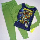 TEENAGE MUTANT NINJA TURTLES Size 4 Pajama Set, NEW