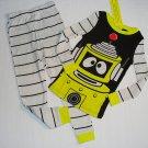 YO GABBA GABBA PLEX Boy's Size 4 Pajama Pants Set, NEW