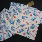 BAHAMAS ATLANTIS By NAARTJIE Boy's Size 4 Shark Ocean Beach Sea Shorts Set, NEW