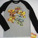 SKYLANDERS GIANTS Boy's Size Large 14-16 Long-Sleeved Graphic Tee, Shirt, NEW