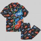 DISNEY PIXAR CARS Boy's 3T LIGHTING MCQUEEN RAOUL Flannel Pajama Set, NEW
