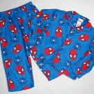 SPIDER-MAN Marvel Boy's Size 4T Pajama Pants Set, NEW