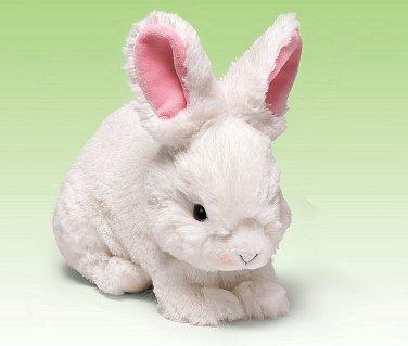 """GUND Plush 10"""" White WHISPERS Bunny, Easter, NEW, 4038534"""