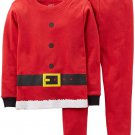 CARTER'S 4T CHRISTMAS Holiday SANTA Clause Suit Pajama Pants Set, NEW