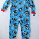 THOMAS And FRIENDS Boy's 4T Print Fleece Footed Pajama Sleeper, NEW