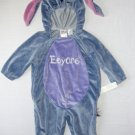 DISNEY Boy's, Girl's 12 Months Plush EEYORE Donkey HALLOWEEN Costume, NEW