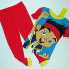 DISNEY JAKE AND THE NEVER LAND Pirates Boy's 3T Graphic Pajama Pants Set
