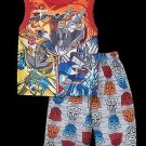 TRANSFORMERS AUTOBOTS Boy's Size 8 Pajama Shorts Set, DINOBOT, OPTIMUS